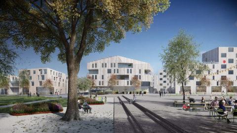 Dietenbach Freiburg, Deutschland - Hosoya Schaefer Architects